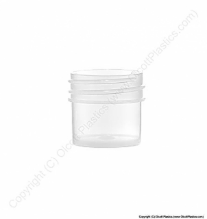 Clarified Polypropylene Single-Wall plastic jar