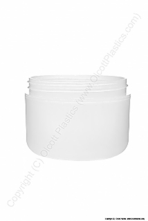 Polypropylene Double Wall Domed Base Frosted Plastic Jar